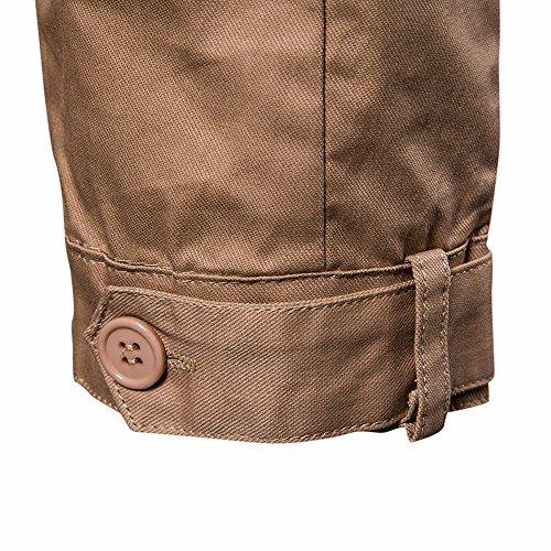 Cachi Degli Con Felpa Dayseventh Coat Top Impermeabile Cappuccio Manica Lunga Cappuccio Uomini Outwear Con PIBv6q6