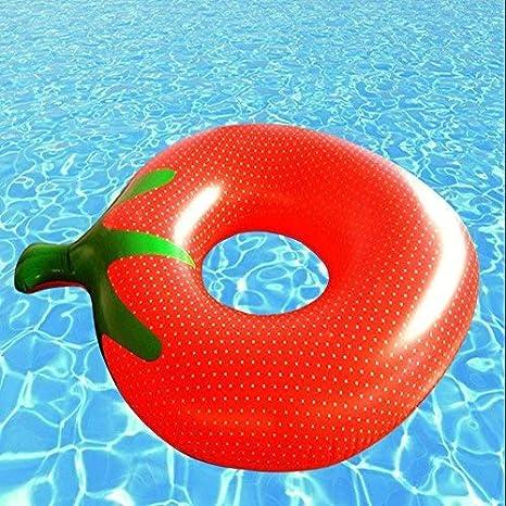 YFQ Tomate Piscina Hinchable Piscina Piscina Lifebuoy Seguridad ...
