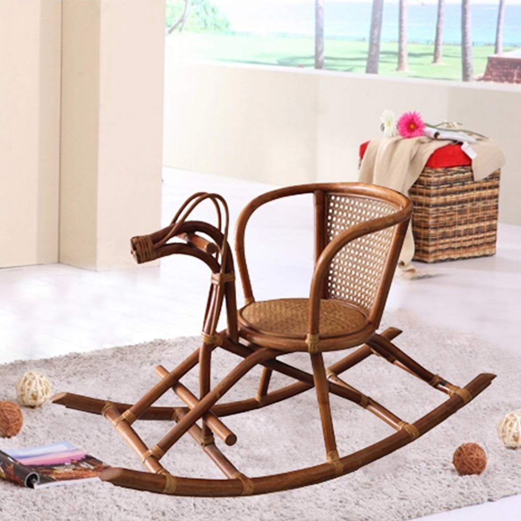 Amazon.com: HYYTY-Y Rattan Handmade Rocking Chair ...
