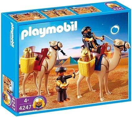 Amazon.com: Playmobil Tomb Raiders con camellos: Toys & Games