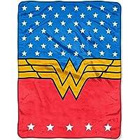 DC Comics Wonder Woman Plush Throw Blanket ~ 46 x 60