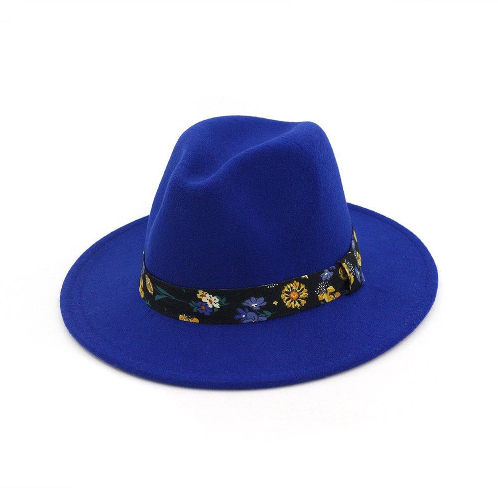 6f45ab8dc3c29 RouPian - Sombrero de vestir - para mujer Azul azul Talla única  Amazon.es   Ropa y accesorios