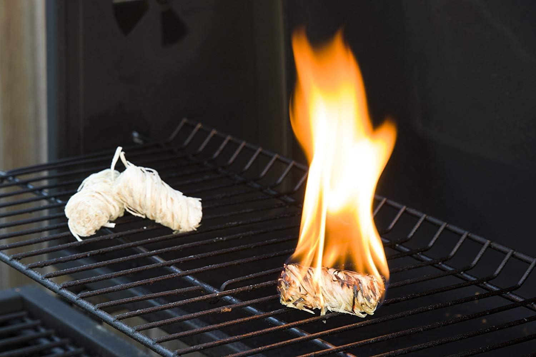 Boules de laine de bois bio pour barbecue allume feu ORA TEC 5KG