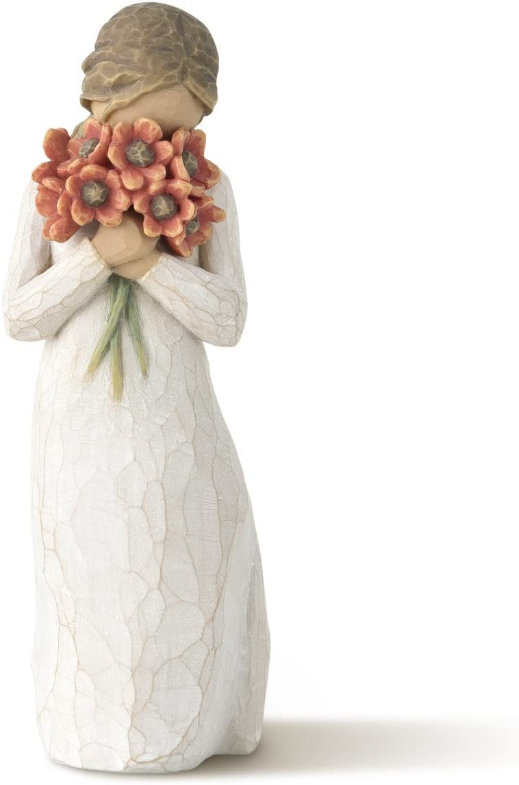 Willow Tree Surrounded by Love, sculpted hand-painted figure