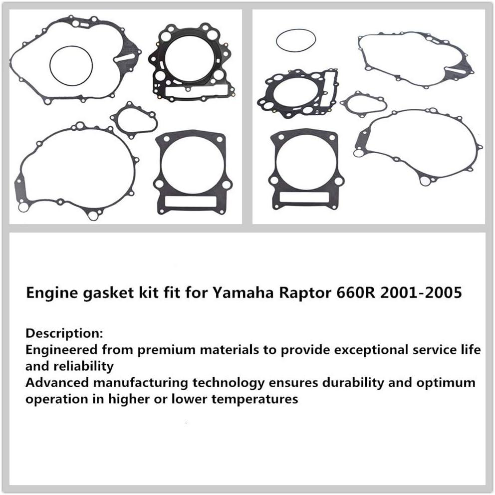 labwork Engine Gasket Kit Fit for Yamaha Raptor 660R 2001 2002 2003 2004 2005