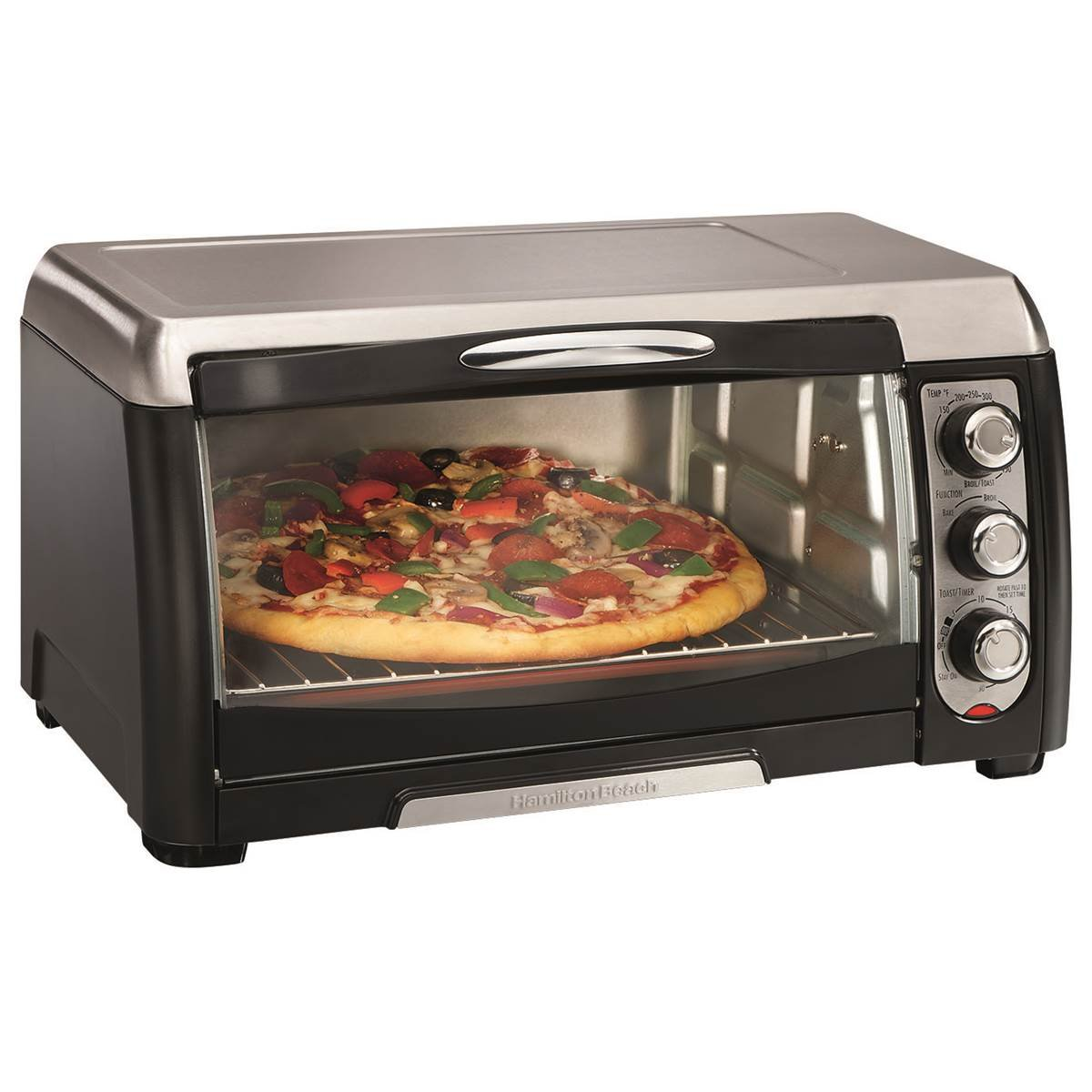 Hamilton Beach 6 Slice Capacity Toaster Oven Broiler