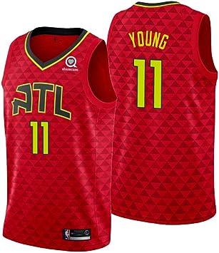 uSport Trae Young - Atlanta Hawks #11 Camiseta de Baloncesto para ...