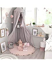 HOUTBY Round Carpet Sweet Baby Playmat Kid Rug Cartoon Color Soft Comfortable Play Mat Baby Room Decoration, Pink