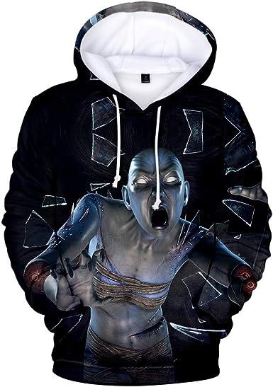 Mens Christmas Suit 3D Print Hoodie Sweatshirt Pullover Coats Jacket Outwear US
