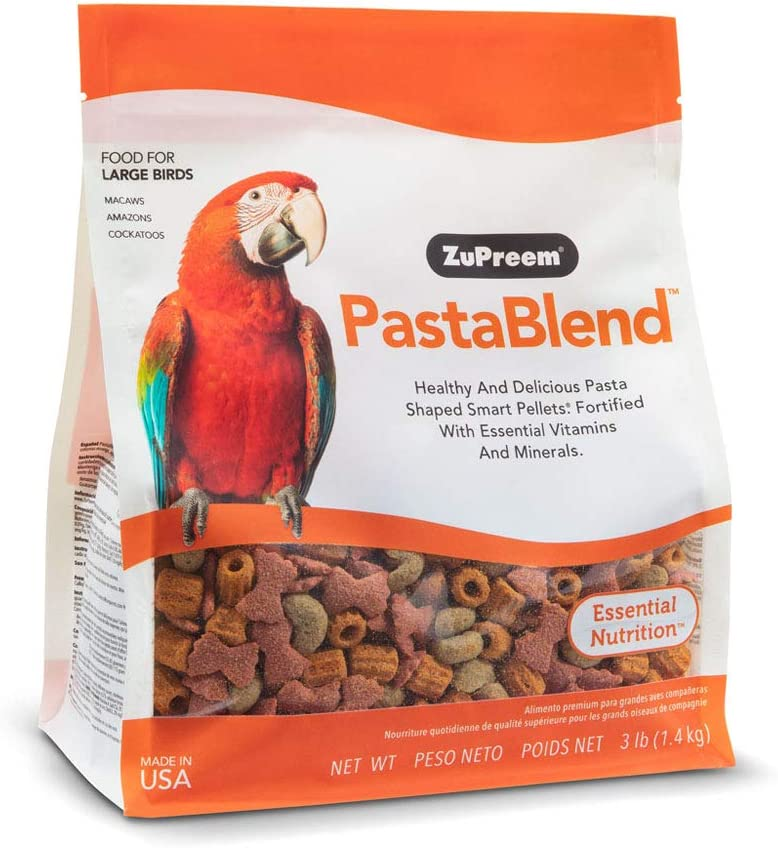 ZuPreem PastaBlend for Large Birds, 3 lb Bag