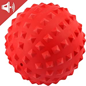 RHL Dog Squeaky Toys for Aggressive chewers Large Breed Balls Interactive Dog Ball Toy Almost Indestructible Tough Durable Stick for Medium Small Dogs Puppy Chew Toys with Non-Toxic Natural Rubber