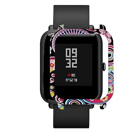 Harpily Correa de Reemplazo para Reloj Inteligente para Xiaomi Huami Amazfit Bip Youth Watch, Hombre Mujer Deporte Ocio Moda de PC Simple (C)