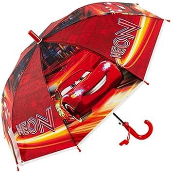 NEW Boys Kids School Cartoon Car Rain Umbrella Brolly
