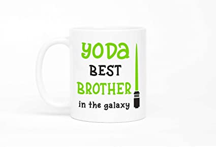 Yoda Best Brother MugBrother MugGift For BrotherFunny Gift