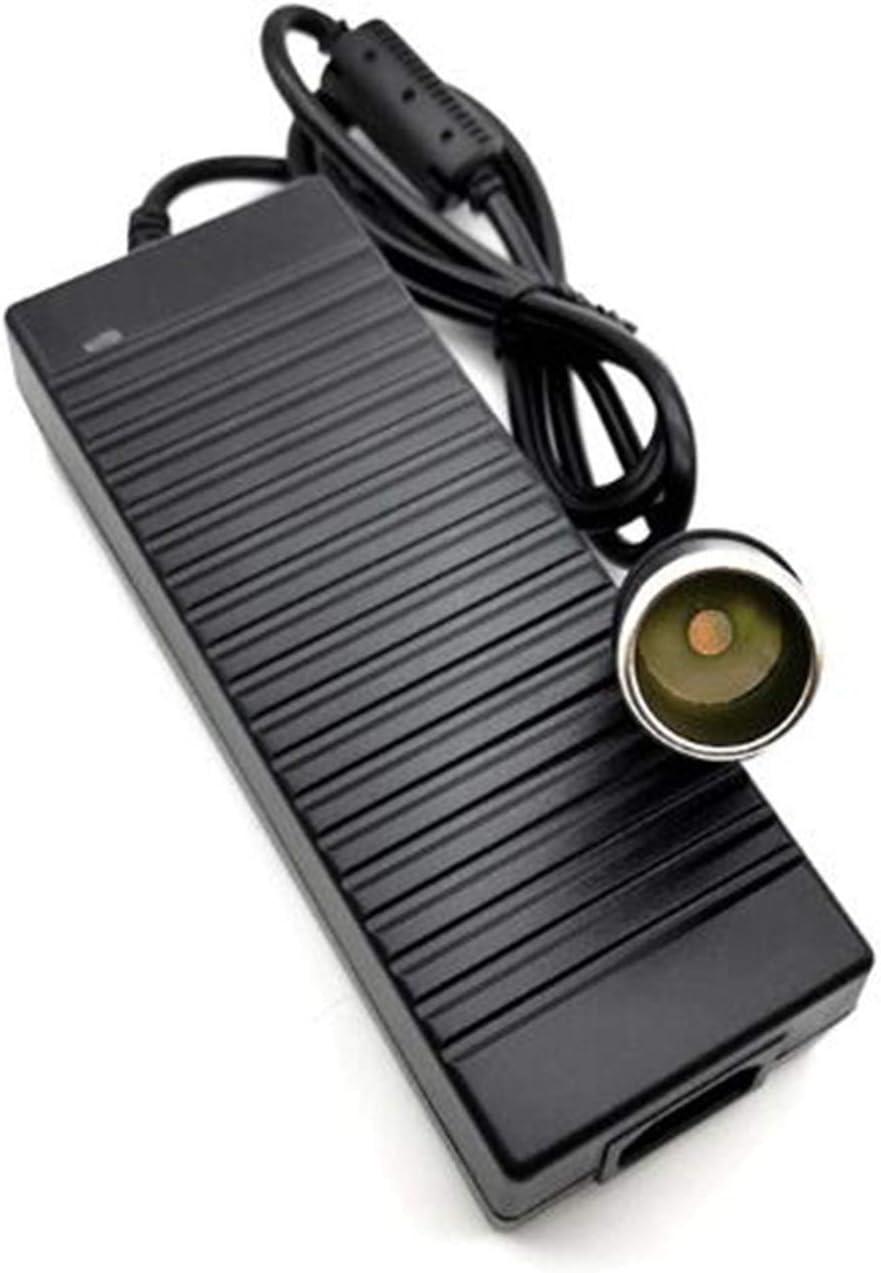 frigoriferi 120W Adattatore di Alimentazione per accendisigari LEDMO Trasformatore per accendisigari 12V 10A 1.2M Adatto per Apparecchio per Auto a 12V Supply AC a DC Come aspirapolvere dell/'Auto