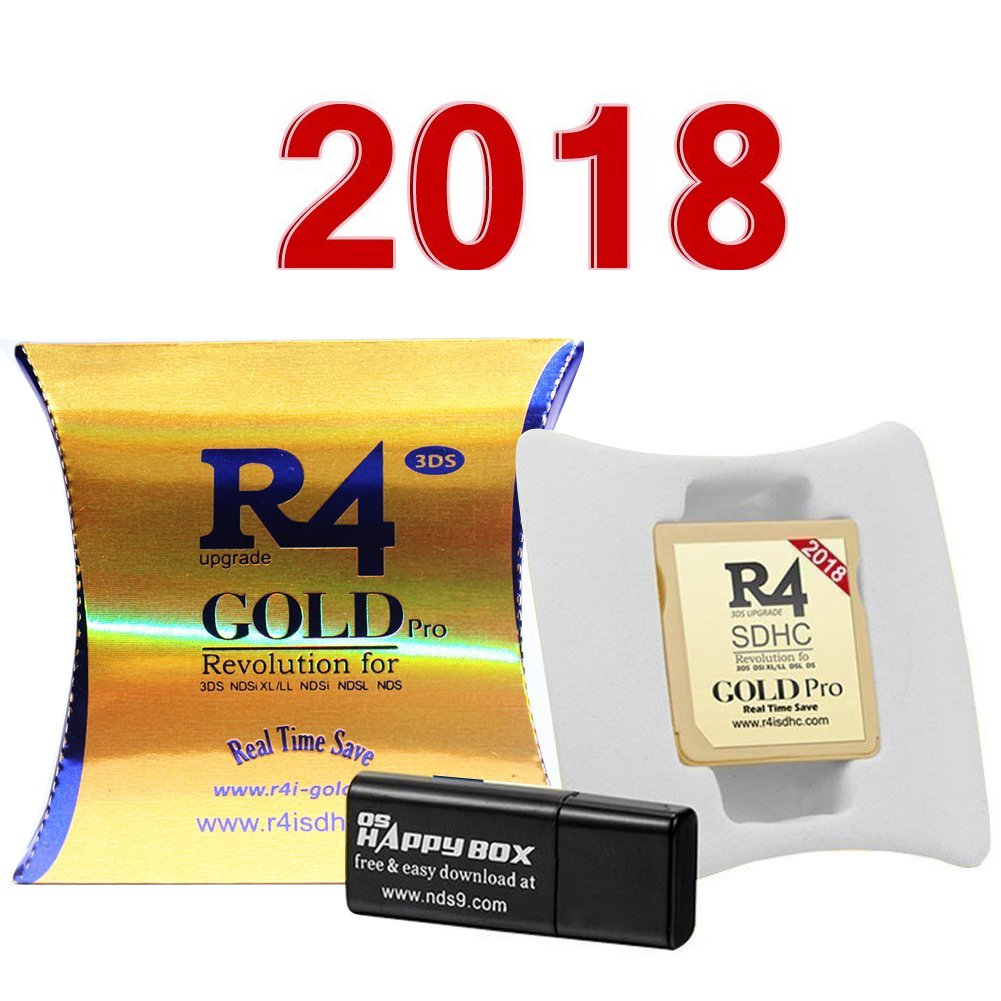 2018 New Version R4i SDHC Card with Memory Adapter for 3DS