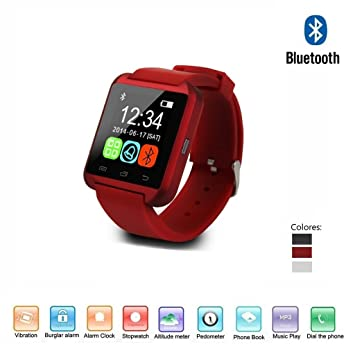 "Navline U8 Smartwatch Reloj Inteligente (Pantalla 1.44"", Bluetooth, USB, Compatible Android"