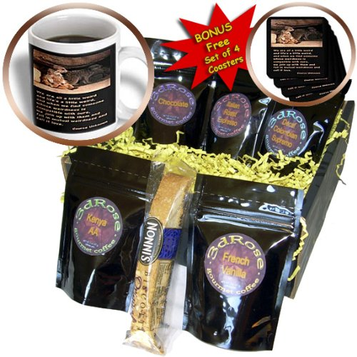 cgb_12175_1 Beverly Turner Photography - Meerkats, We are a little Weird - Coffee Gift Baskets - Coffee Gift Basket