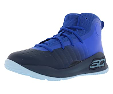 9a63c632fb62 Under Armour Curry 4 Mid (Preschool) Royal Blue Yellow