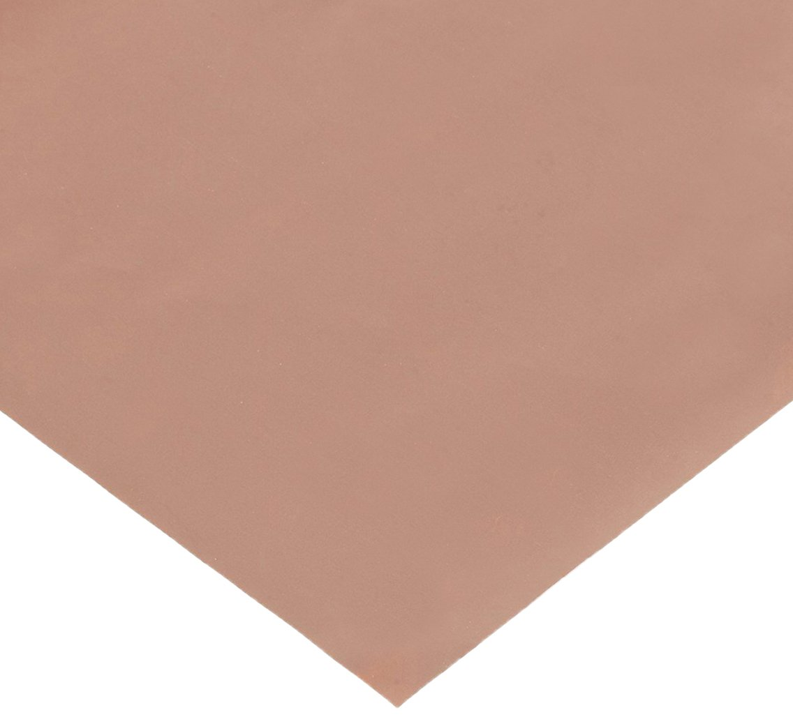 H02 Temper Mill 25 Length ASTM B152 110 Copper Sheet Finish Unpolished 0.00135 Thickness 12 Width