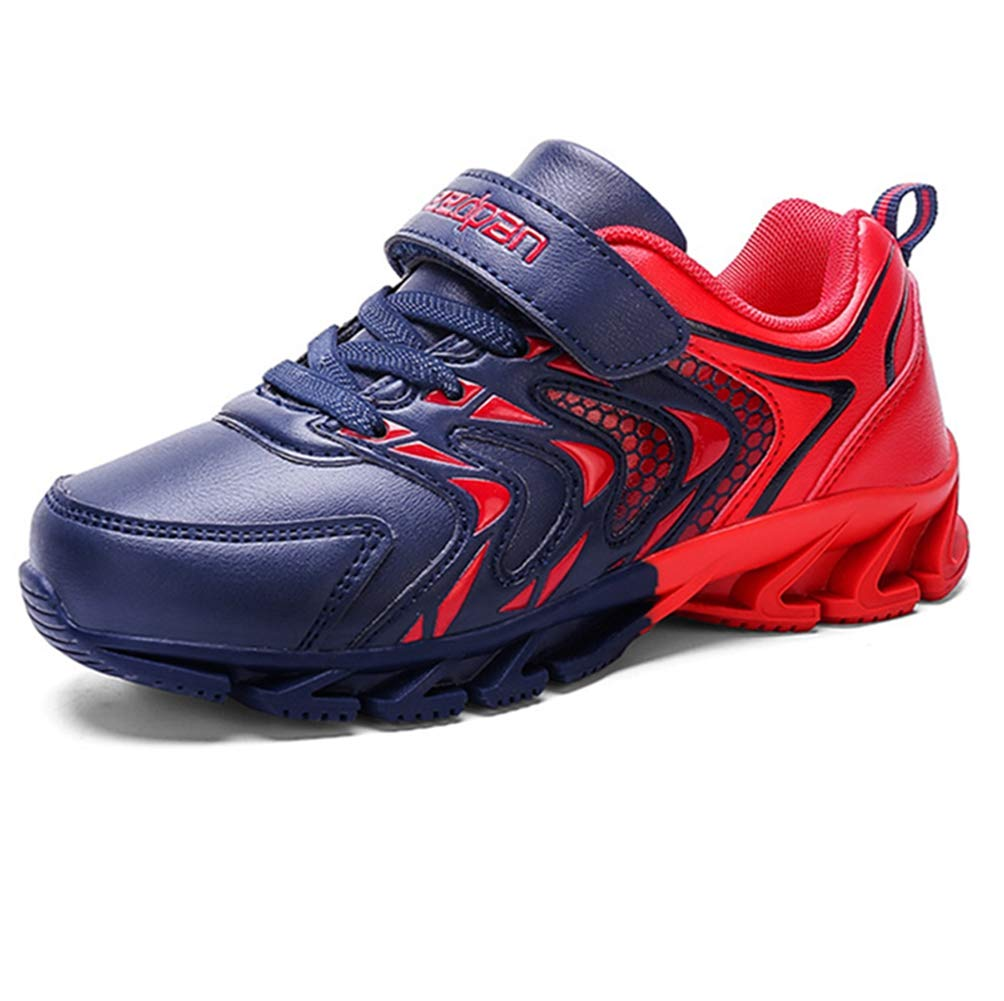 LGXH Waterproof Kids Sneakers Lightweight Non-Slip Boys Girls Athletic Running Walking Tennis Shoes Dark Blue Size 11 M US Little Kid
