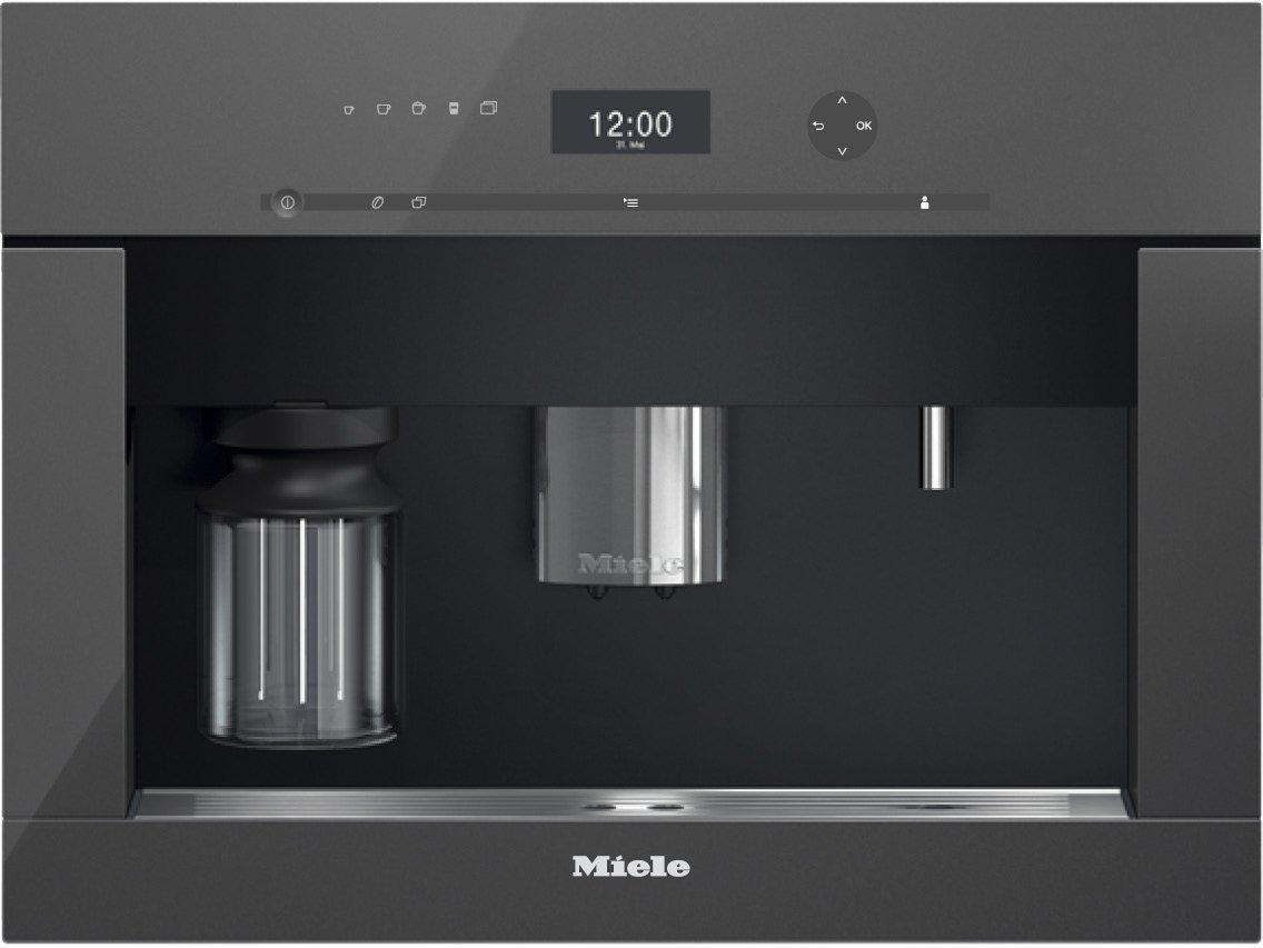 Miele CVA 6401 Integrado Totalmente automática Máquina espresso 2.3L 15tazas Gris - Cafetera (Integrado, Máquina espresso, 2,3 L, Molinillo integrado, ...