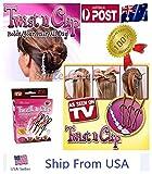 Magic TWIST N CLIP For Women Hair 4 Hairpin Clips 1 Tassel T As Seen On TV USA