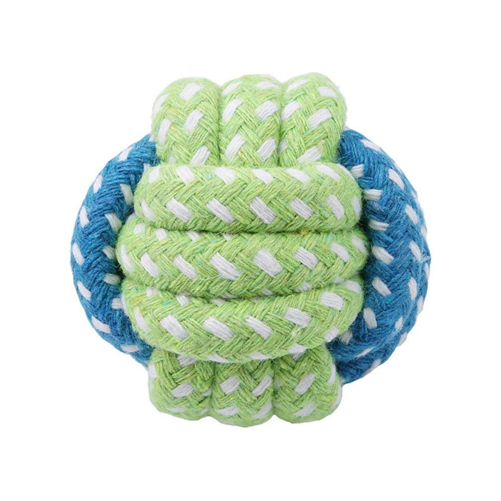 Tcplyn Premium Quality Pet Toys Dog Cotton Braided Bone Rope Puppy Teeth Tug Chewing Treats Knot 5
