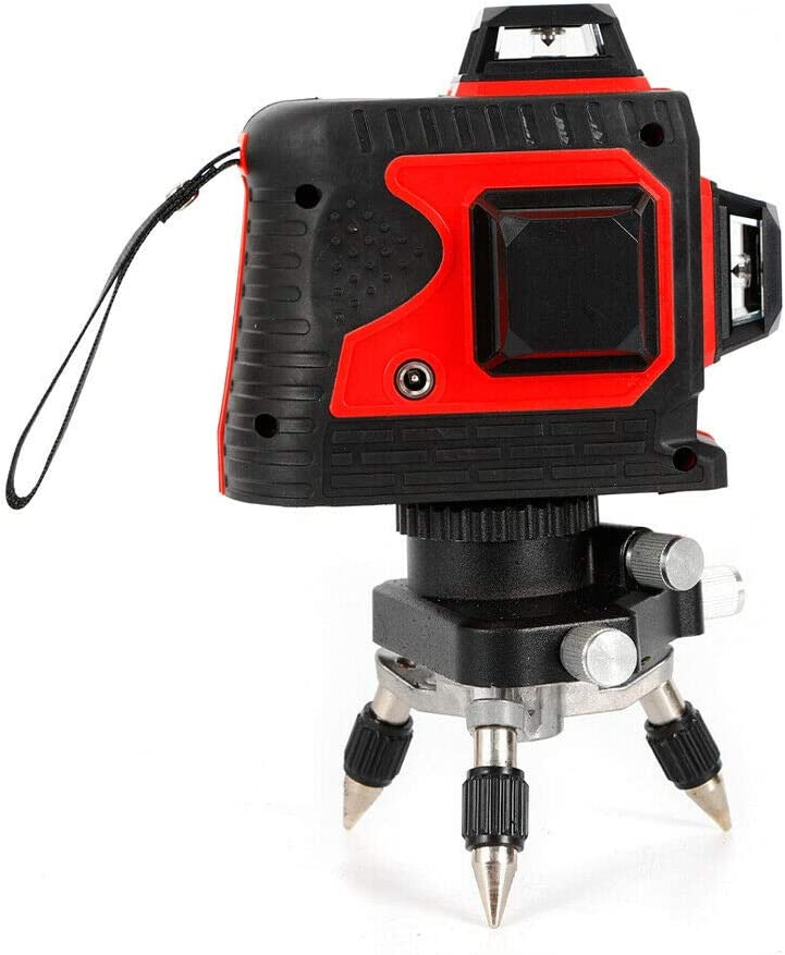 Apparence rouge Laser vert 3D Niveau Laser 12 lignes de faisceau laser /à nivellement automatique faisceau laser de 360/°