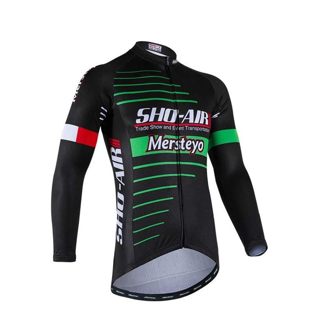 Fahrrad Reitanzug Outdoor Sports Bike Jersey Atmungsaktive Slim Langarm Shirt Downhill Anzug Fahrrad Trikot LPLHJD