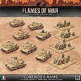 Flames of War: Mid War: Italian: Lorenzo's Rams Army Box