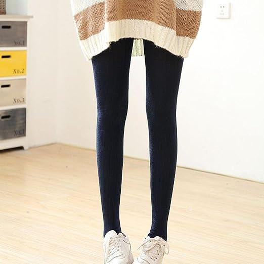 31cb9b478 DMZing Women s Winter Warm Comfortable Tights Over Knee Long Boot  Thigh-High Soft Crochet Boot