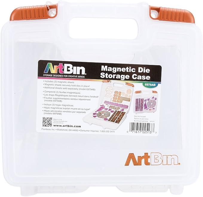 Art Bin magnetico Die Storage W/3 fogli-10.25
