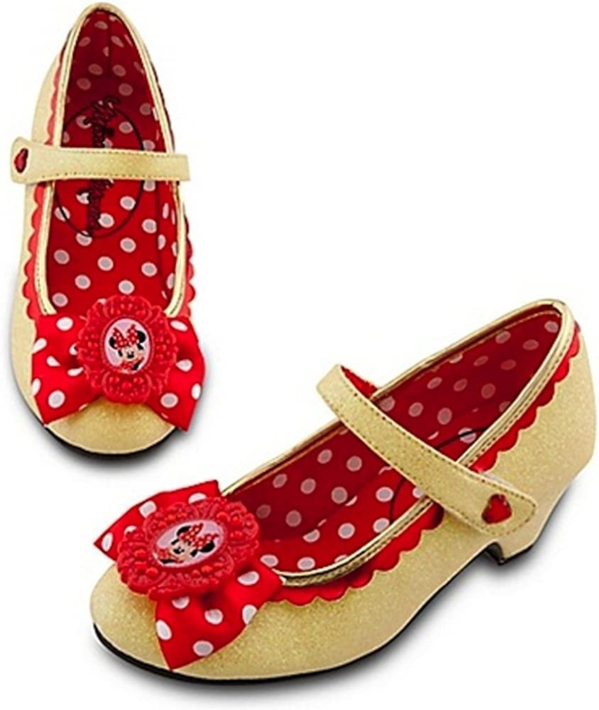 Disney Store Deluxe Minnie Mouse Shoes