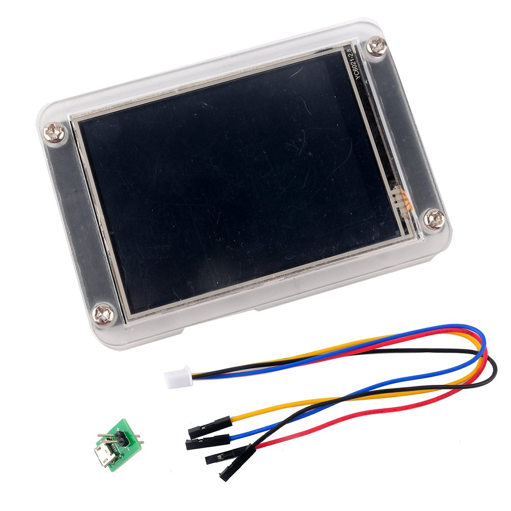 NX4832K035 Nextion Enhanced 3.5'' LCD Module Display with Acrylic Case, for Arduino Raspberry Pi ESP8266