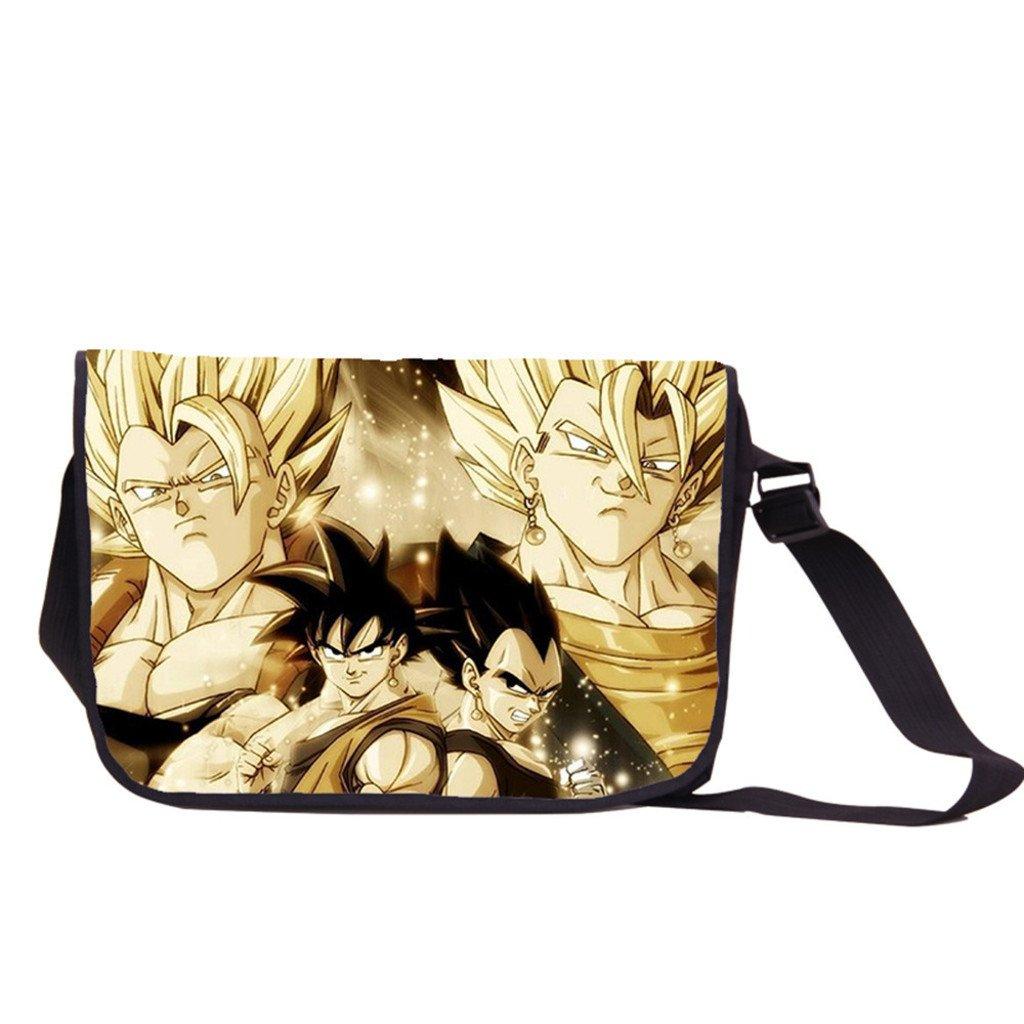 Siawasey Anime Dragon Ball Z Cosplay Backpack Messenger Bag Shoulder Bag