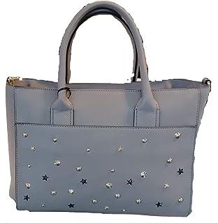 Kocca Borsa a mano spalla donna con borchie LADISLA Bag Grey 54f7c6b3167