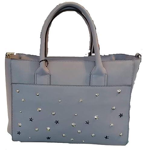 910fbc6f78 Kocca Borsa a mano spalla donna con borchie LADISLA Bag Grey: Amazon ...