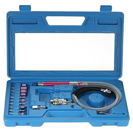 Druckluftschleifer Mikro Stabschleifer Set Mini Schleifer Druckluftschleifgerät