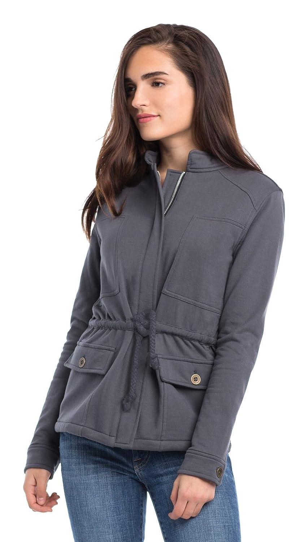 Synergy Organic Clothing Berkshire Jacket Charcoal Medium WF40