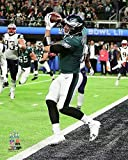#7: Philadelphia Eagles Super Bowl 52 MVP Nick Foles Catches The Only Touchdown By A Quarterback In Super Bowl History. 8x10 Photo, Picture