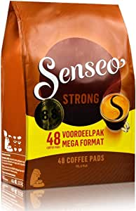 Senseo Coffee Pads Strong, Powerful Flavour, Ground & Roasted, 48 Pods