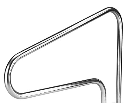 Inter-Fab D3D50049 3 Bend Stainless Rail Swimming Pool handrail