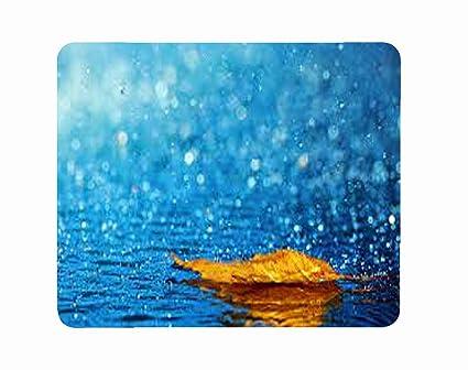 Amazoncom Computer Laptop Mousepad Mat Mouse Pad Rainy Day