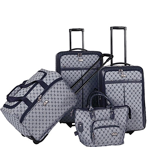 american-flyer-luggage-signature-4-piece-set-navy-one-size