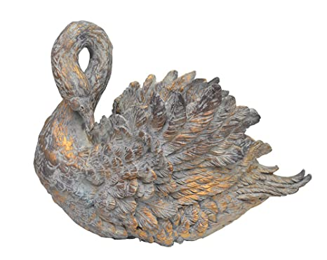 Amazon Com Large 22 Victorian Swan Planter Ornate Vintage