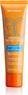 product image for MDSolarSciences Mineral Tinted Crème SPF 30   Smooth, Lightly Tinted Broad Spectrum UV Protection, Oil-Free, Natural Finish, Water-Resistant   1.7 Oz