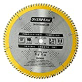 Overpeak Ultra Fine 90 Teeth Circular Saw Blade for Wood Cutting 10-Inch