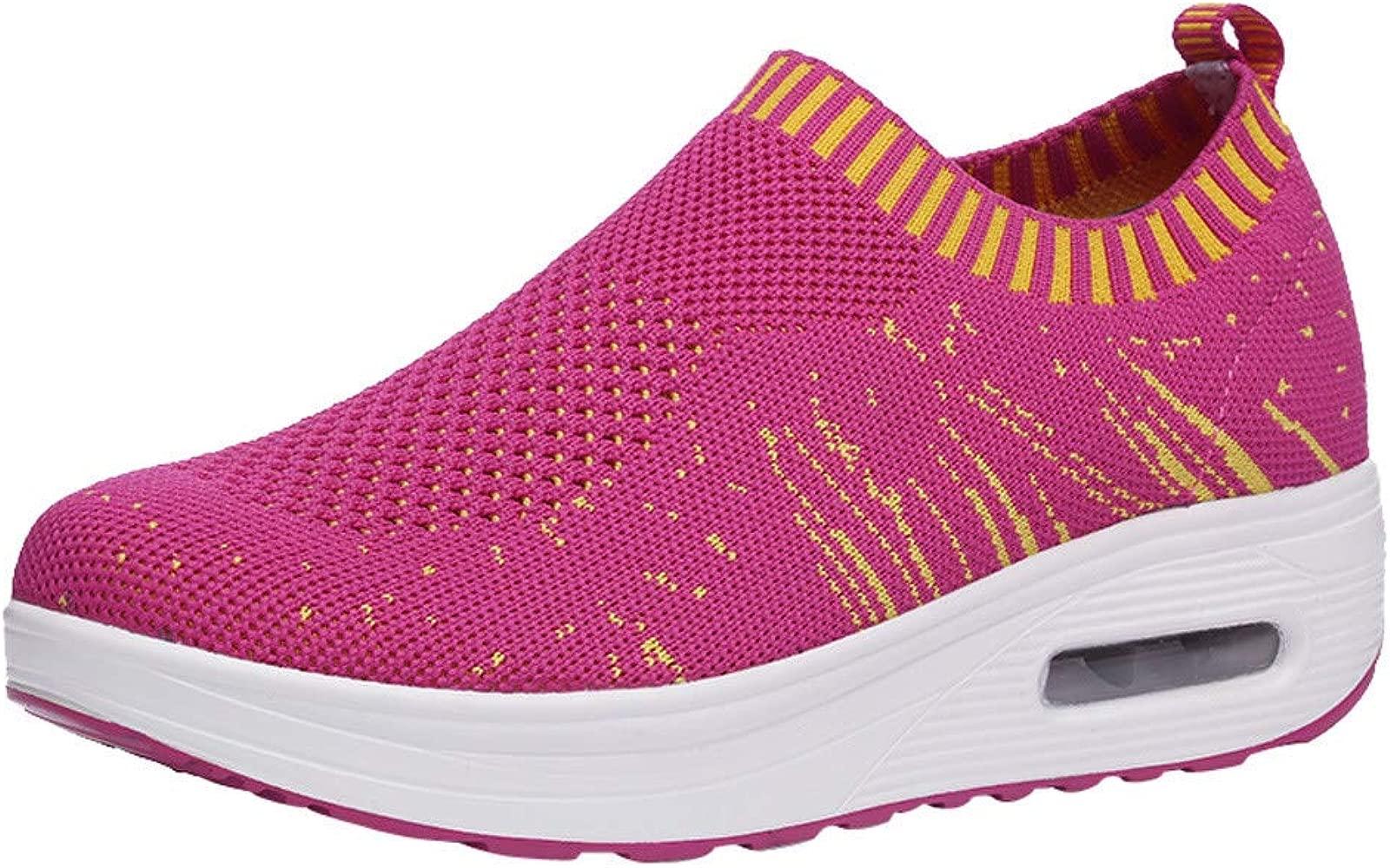 Beladla Zapatillas Deportivas De Mujer - Zapatos Sneakers Zapatillas Mujer Running Casual Yoga Calzado Deportivo De Exterior De Mujer Blanco Negro ...