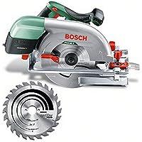 Bosch cirkelsåg PKS 66 A (1 600 watt, sågklinga nominell Ø 190 mm, i kartong)